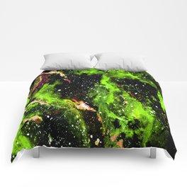 Galaxy (green) Comforters