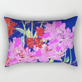 Oriental Bloom Rectangular Pillow