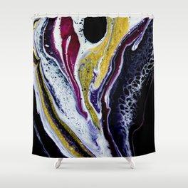 Galaxy Whirl Shower Curtain