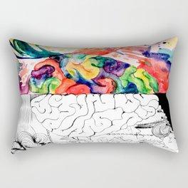 Right Left Brain Rectangular Pillow