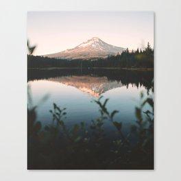 Trillium Lake Canvas Print