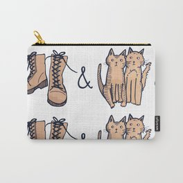 BOOTS & CATS Carry-All Pouch
