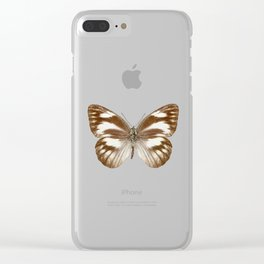 "Butterfly species Appias libythea ""Striped Albatross"" Clear iPhone Case"