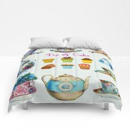 Tea & Cake Comforters