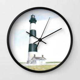 Bodie Island Light Wall Clock
