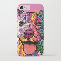 rottweiler iPhone & iPod Cases featuring Rottweiler Dog by trevacristina