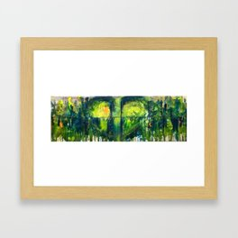 Sara's Heart Framed Art Print