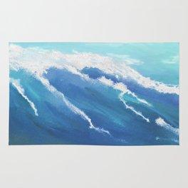 Catch A Wave - Seascape Rug
