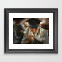 King Of The Road Framed Art Print