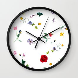 Midsummer Incantation Wall Clock