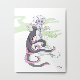 Dis Fashion, Ursula  Metal Print