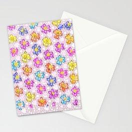 pattern flower Stationery Cards