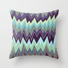 pointy sharps Throw Pillow