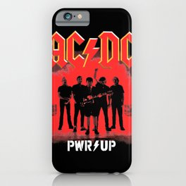 AC/DC Pwr Up iPhone Case