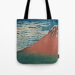 Fine Wind, Clear Weather by Hokusai Tote Bag