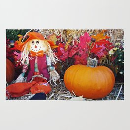 Little Mister Scarecrow Rug