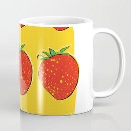 Strawberry with pizza Coffee Mug