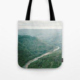 Winding Road Tote Bag