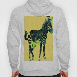 Zebra Pop Art Hoody