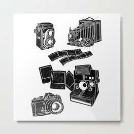 Weapons Of Mass creation - Photography (block print) Metal Print