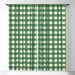 FORREST GREEN CHECK Blackout Curtain