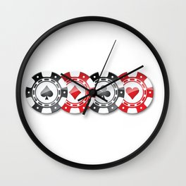 Poker token game ! Wall Clock