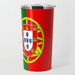 Flag of Portugal Travel Mug