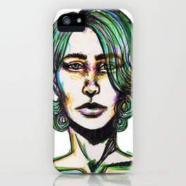 Pretty Boy iPhone Case