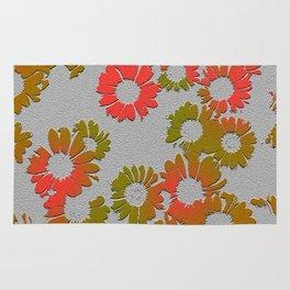 Emboss Floral Rug