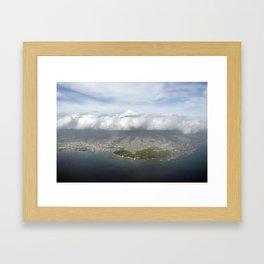 Meet Me in the Sky Framed Art Print