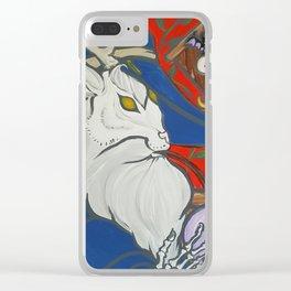 Bun Bun Clear iPhone Case