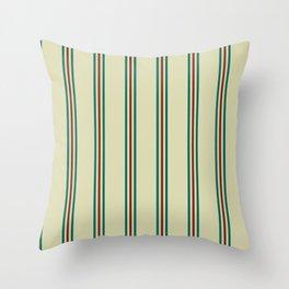 Retro Straight Stripe Throw Pillow