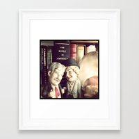 marx Framed Art Prints featuring Marx by Michelle Wenz