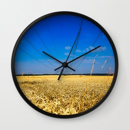 Cornfield Wall Clock