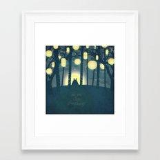 Totoro ' s Dream  Framed Art Print