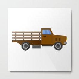 farm truck Metal Print