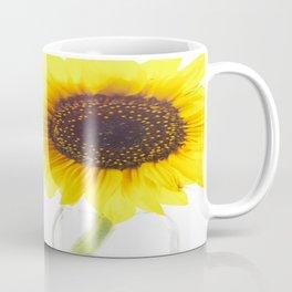 Three Sunflowers Coffee Mug