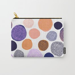 big chrysanthemum dots Carry-All Pouch