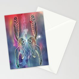Owl Reflected Stationery Cards