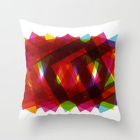 islam Throw Pillows featuring Beauty of Islam by Amr Elkouedy