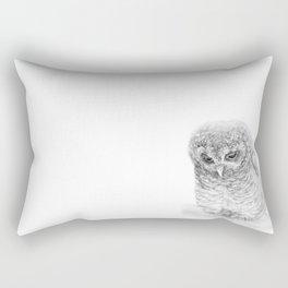 The African Wood Owl Rectangular Pillow