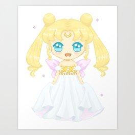 Serenity Pixel Doll Art Print