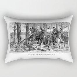 The Fall Of Reynolds -- Civil War Rectangular Pillow