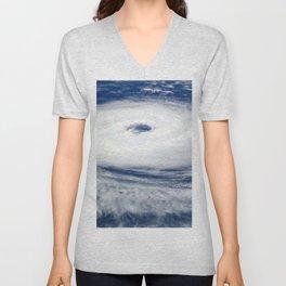 Hurricane Catarina atlantic tropical cyclone Unisex V-Neck