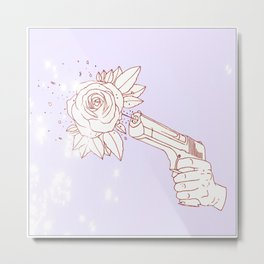 Aw, Shoot. Metal Print
