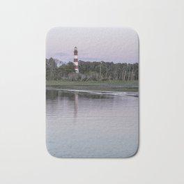 Assateague Lighthouse - portrait Bath Mat