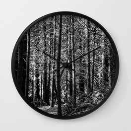 In The Sticks Wall Clock