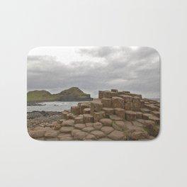 Giant's Causeway stones Bath Mat