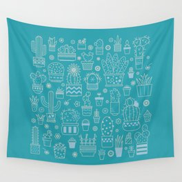 Cactus Crazy 03 Wall Tapestry