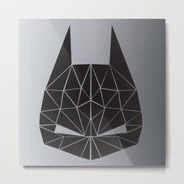 Bat Attack (square) Metal Print